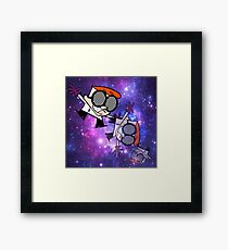 Dextor's Lab Experiment #420 Framed Print