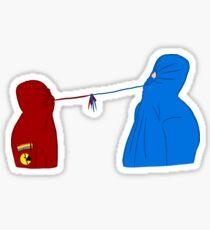 hoodie bois Sticker