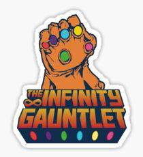 Pegatina Infinity Gauntlet - Poder