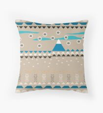 American Native Pattern No. 14 Throw Pillow
