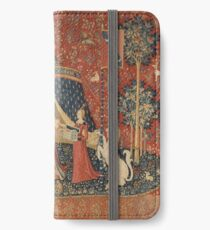 The Lady and the Unicorn: À Mon Seul Désir iPhone Wallet/Case/Skin