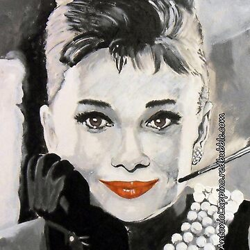 Audrey in Breakfast at Tiffanys by antonioluppino