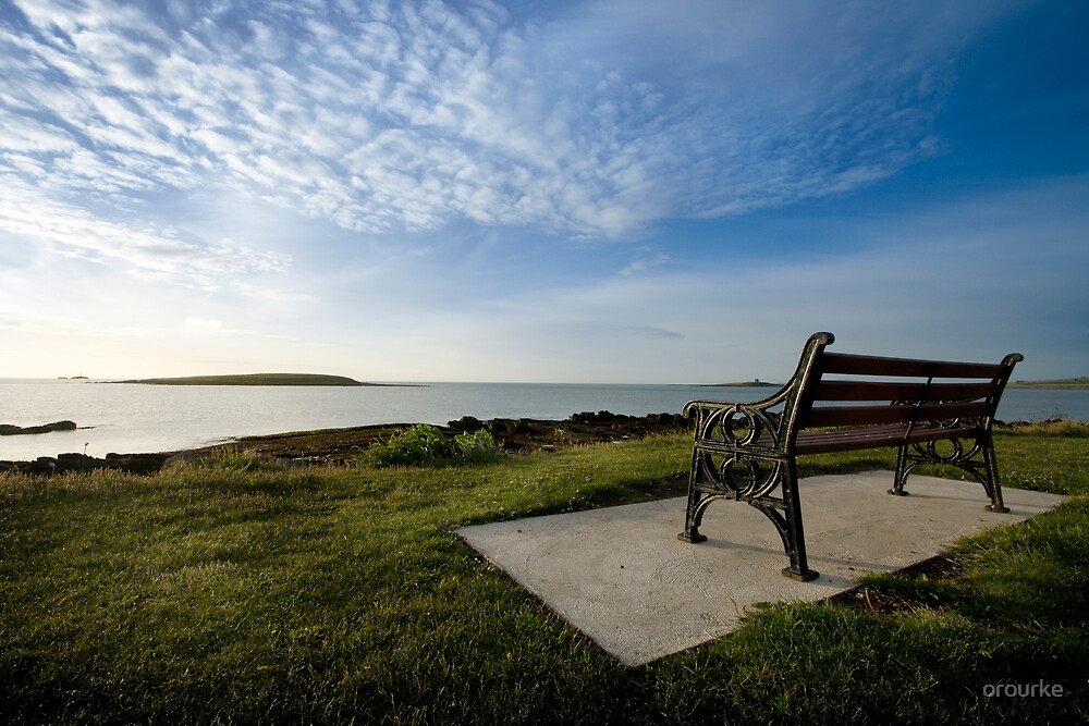 A chair with a view by orourke
