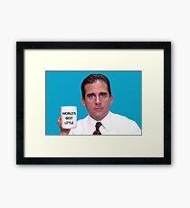 World's Best Little Framed Print