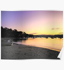 Hush - Clareville - Sydney Beaches - the HDR Series Poster