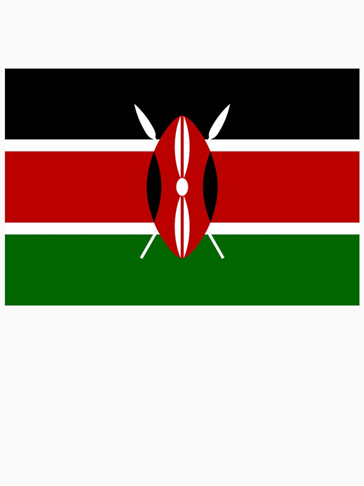 Kenya flag of kenya swahili bendera ya kenya african flags africa