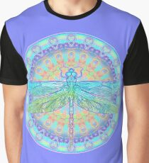 Art Nouveau Dragonfly Graphic T-Shirt