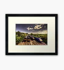 Summer Saturday at Aller Junction Framed Print