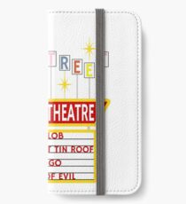 Elm Street Drive-In Theatre Sign iPhone Wallet/Case/Skin