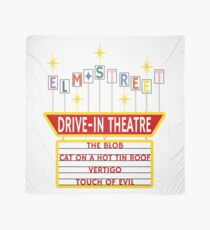 Elm Street Drive-In Theatre Sign Scarf