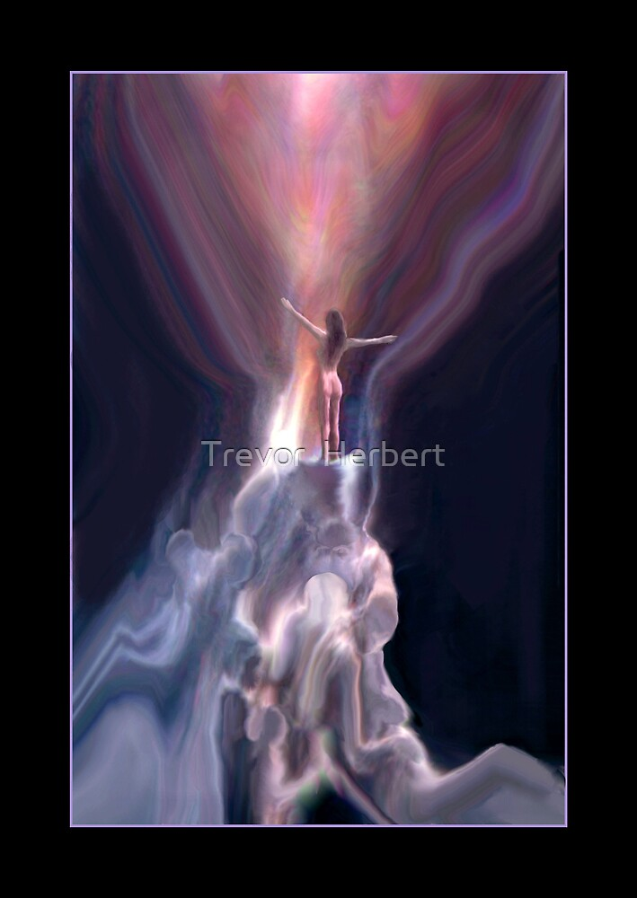 ghostly sky by Trevor  Herbert