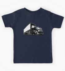 Cartoon semi truck Kids Clothes