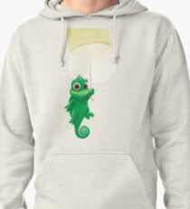 Pascal swinging from a lantern Pullover Hoodie