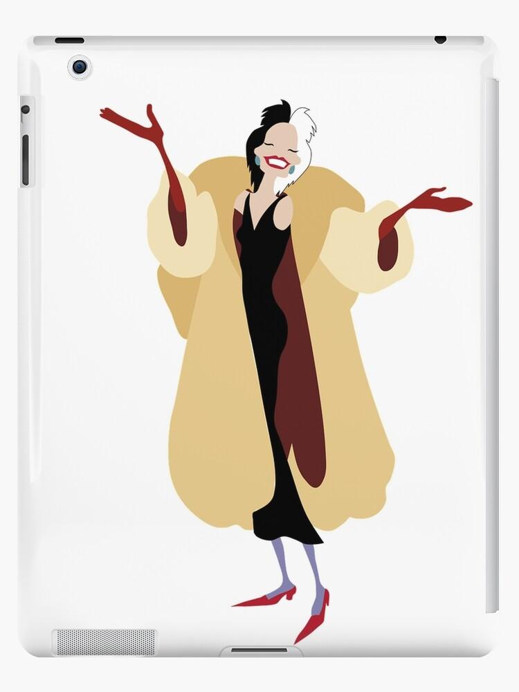 Cartoon Cruella DeVille by printz