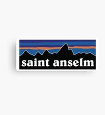 Saint Anselm Canvas Print