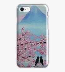 Below Mt Fuji iPhone Case/Skin