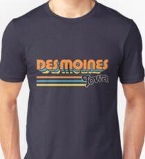 Des Moines, IA   City Stripes T-Shirt