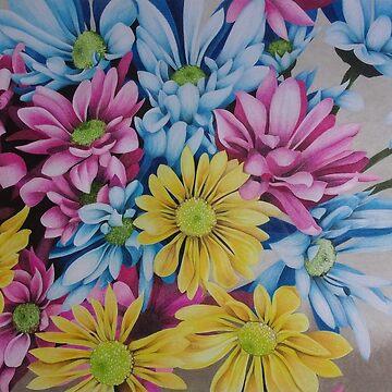 Bouquet of flowers by Artanimalier
