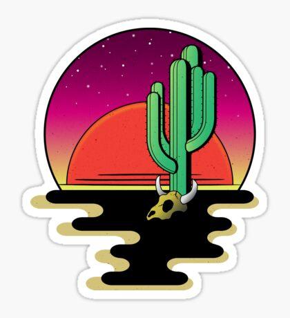 Desert Night Sticker