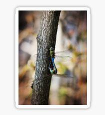Dragonflies Need Love Too Sticker