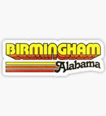 Birmingham, AL | City Stripes Sticker