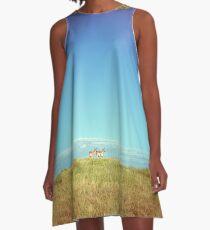 Badlands Antelope A-Line Dress
