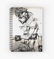 Simplefader-Leedel Spiral Notebook