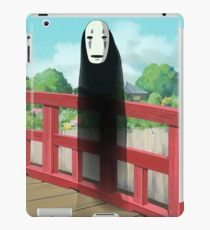 creepy dude iPad Case/Skin