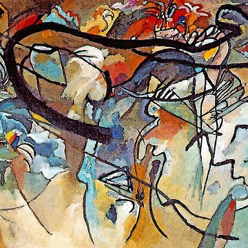 Wassily Kandinsky Composition 5 - Abstract Art by Jeffest
