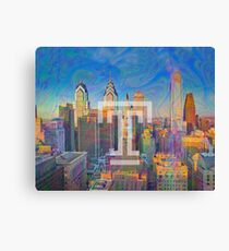 Temple T Tapestry Canvas Print
