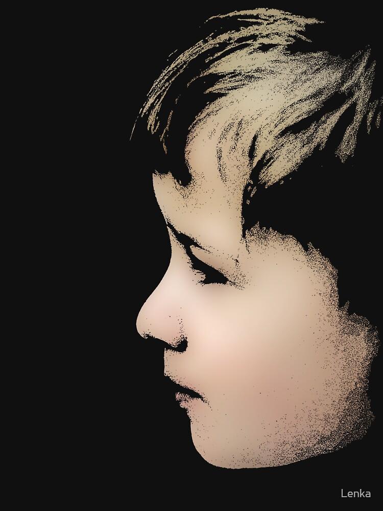 Little boy (T-Shirt & iPhone case) by Lenka