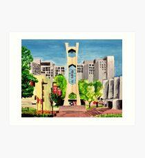 Temple University Art Print