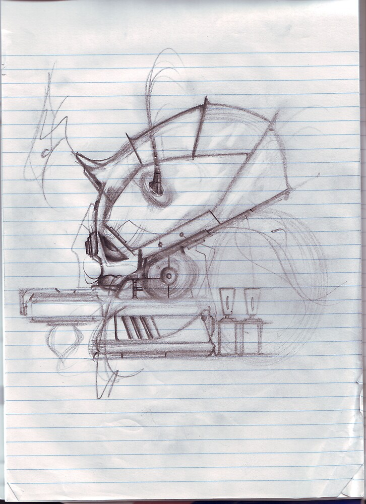 Rough sketch for Canvas by atomikboy