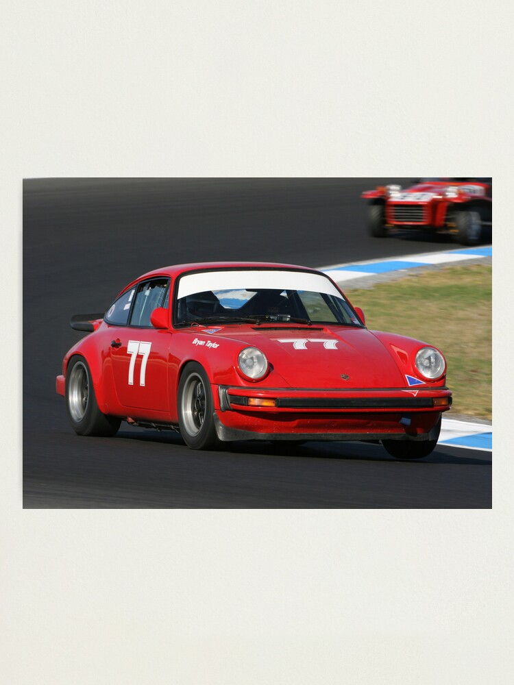 Alternate view of Red 911 Photographic Print
