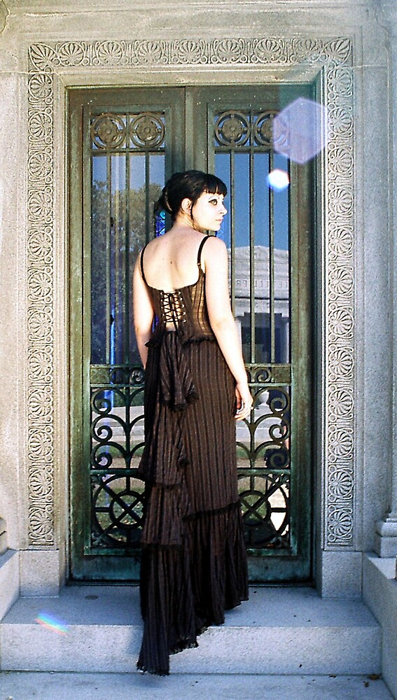 at the door way by amado ochoa