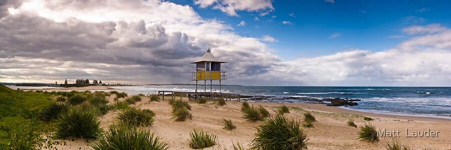 Approaching Storm, The Entrance, Central Coast by Matt  Lauder