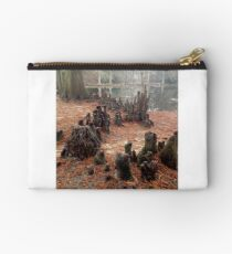 Tree Roots that look like a crowd of people Studio Pouch