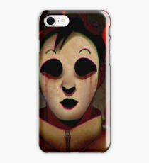Masky From Marble Hornets iPhone Case/Skin