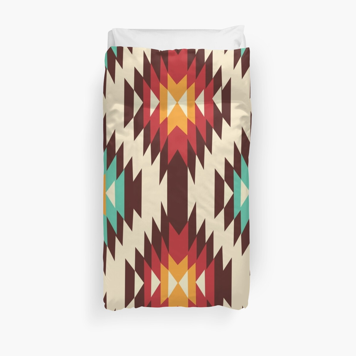 Quot American Native Pattern No 45 Quot Duvet Covers By