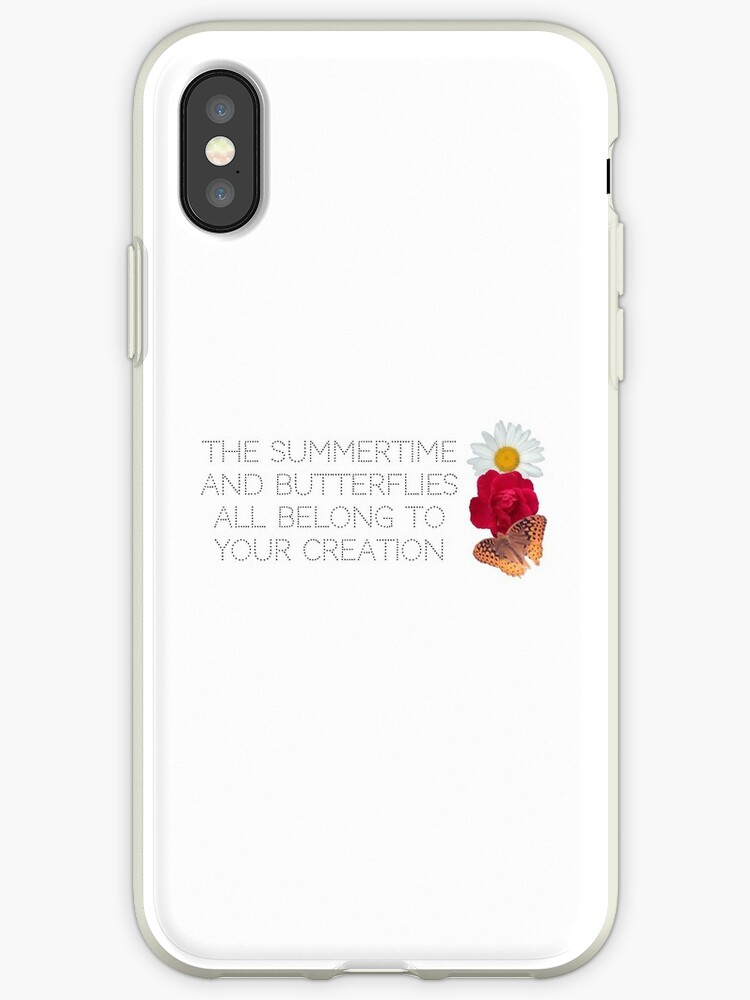 'One Direction Olivia Lyrics' iPhone Case by cecilehoran
