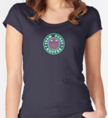 Team Rocket - Koffee Women's Fitted Scoop T-Shirt