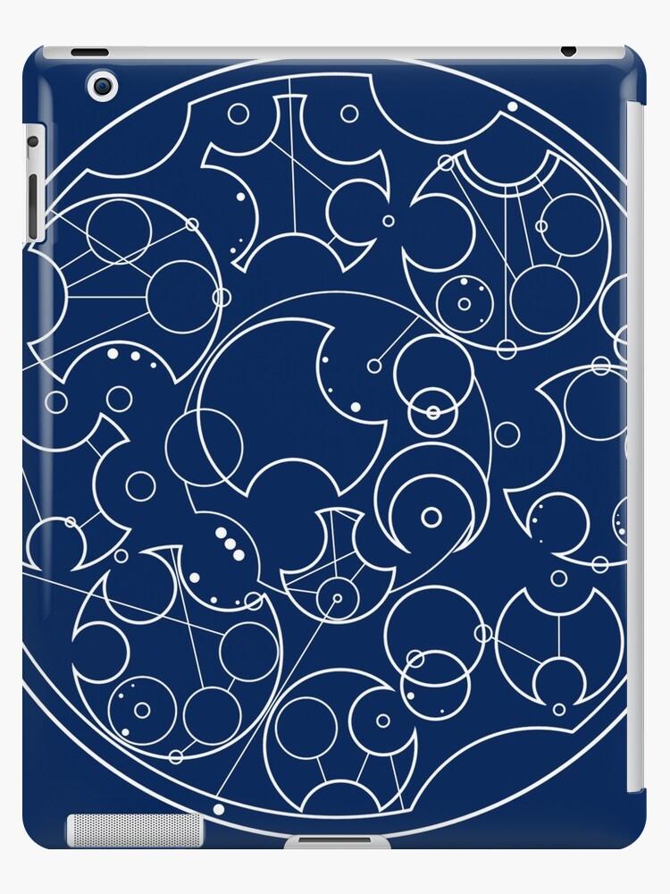 Gallifreyan Sherlock (White Print) by phantomssiren