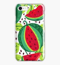 Juicy and sweet watermelon iPhone Case/Skin