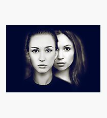 A #WayHaught Portrait Photographic Print