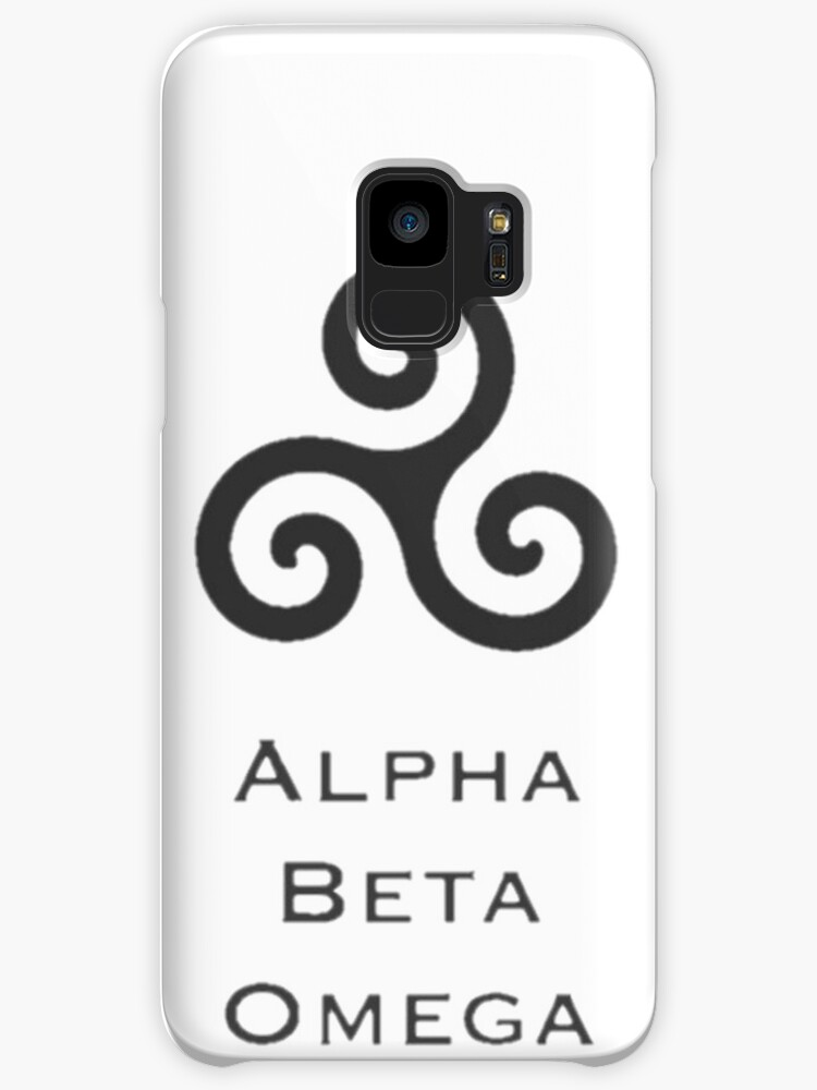 Alpha Beta Omega Trisquel Cases Skins For Samsung Galaxy By