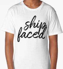 Ship Faced Long T-Shirt