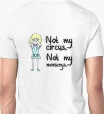 Doodle Reminder - Not My Circus, Not My Monkeys T-Shirt