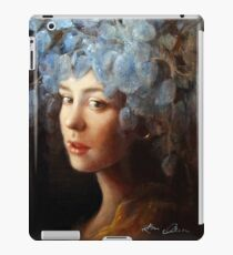 Girl with a Stretched Earlobe iPad Case/Skin
