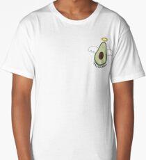 'Holy Guacamole' Avocado Illustration Long T-Shirt