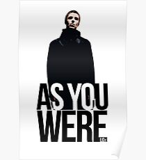 Liam Gallagher // As You Were Polarized image Poster